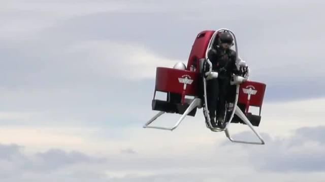 个人喷气式飞行器,遨游苍穹