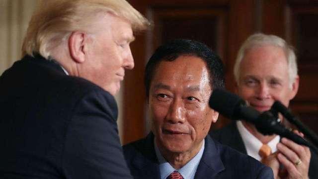 曾指责中国的特朗普为何欢迎富士康