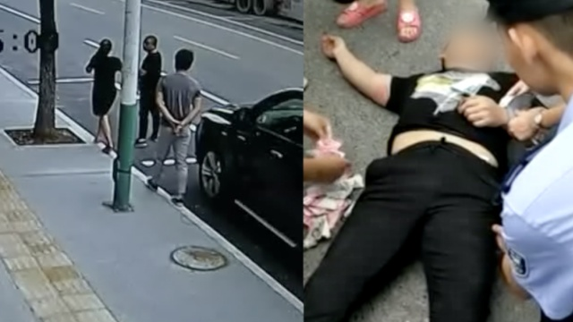 他进店行窃撒腿跑,市民追上他累瘫