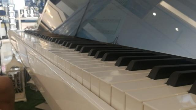 国内首台高科技钢琴:无人自动弹奏