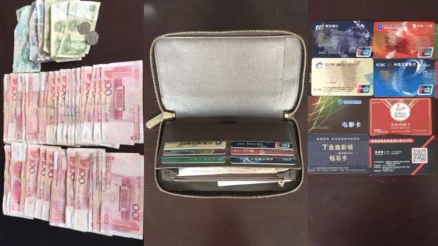 贫困保洁员捡钱包,拒绝诱惑寻失主