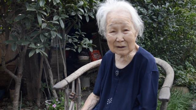 百岁老人|她90年不吃牛肉,熟背古文