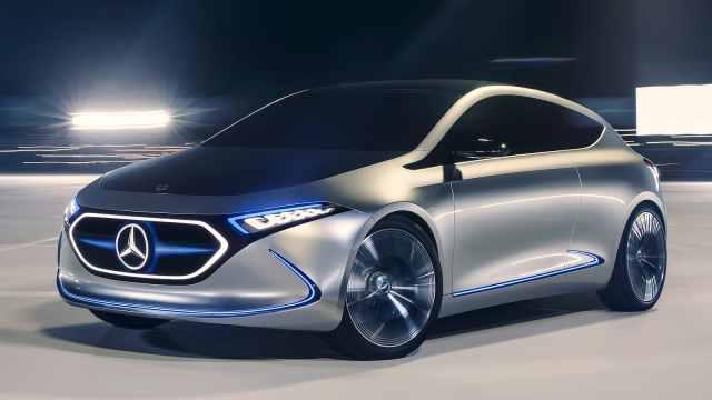电动版GLA,奔驰未来的销量指望?