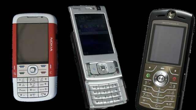 满满回忆!iPhone出现前,你用啥手机