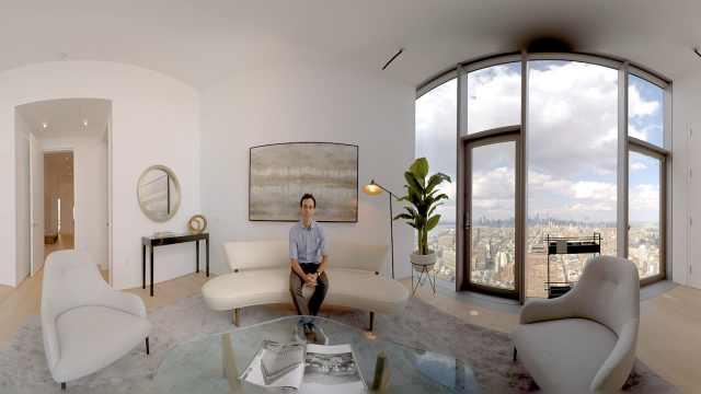 纽约一栋1.16亿人民币的公寓长啥样