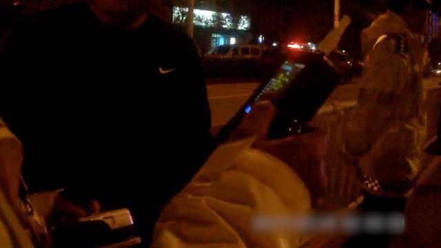 耿直boy遇交警主动停车:我喝酒了