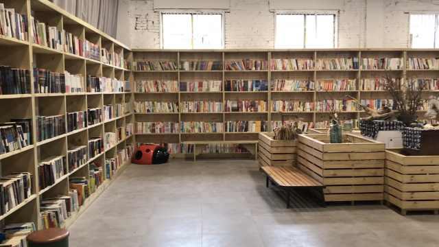 重庆首家国学图书馆,掩映红砖房中