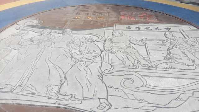 低头看!三峡广场有这些特色图案