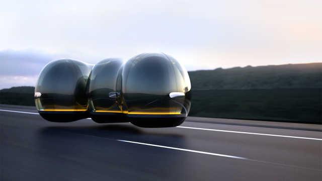 艺术学院学生设计的雷诺悬浮概念车