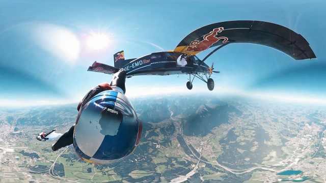 最帅的高空跳伞!你敢一起挑战吗?