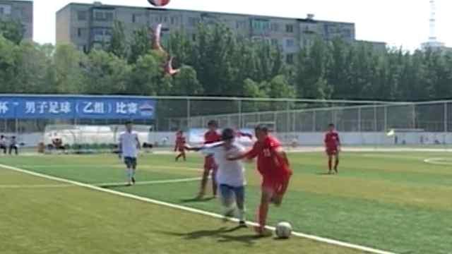 足球小将相比七年前的青少年足球赛