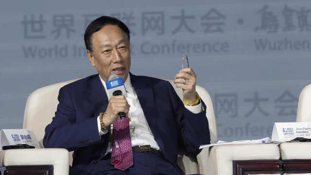 郭台铭:未来20年富士康没有工人了