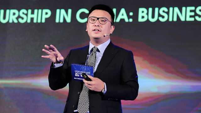饿了么CEO张旭豪:看着马云视频创业
