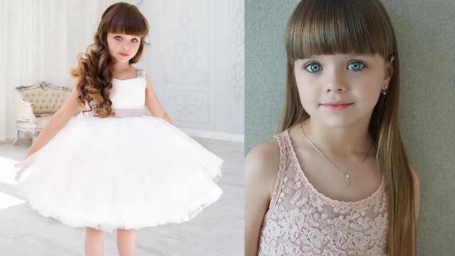 6岁女孩酷似芭比娃娃,引网友热议