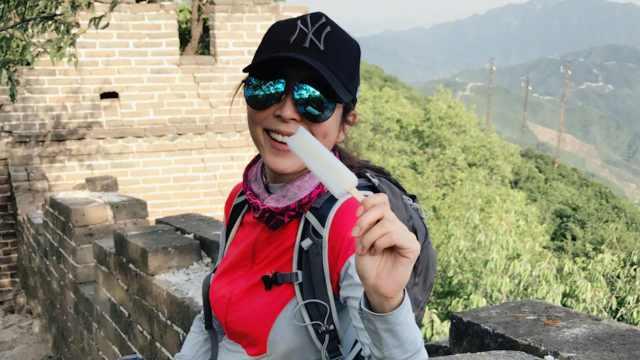 张静初:北京小吃我最喜欢驴打滚儿