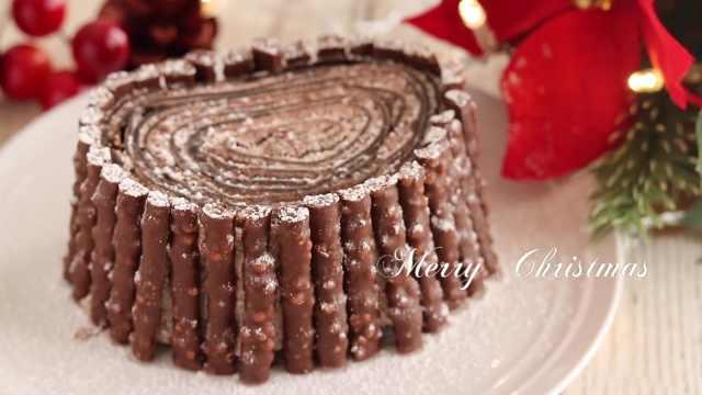 新网红——圣诞巧克力毛巾卷