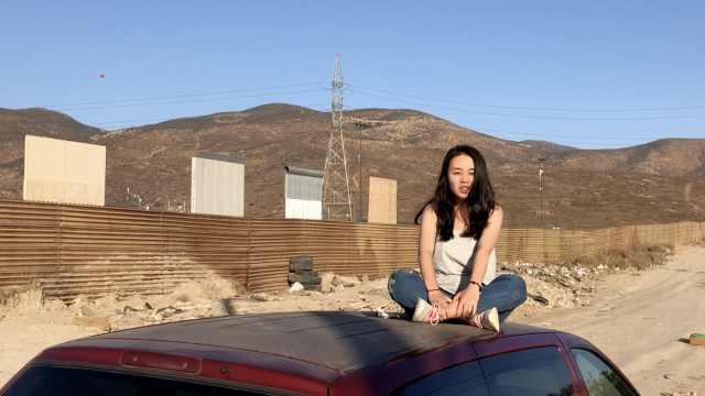探访川普的边境样板墙:还要求颜值!