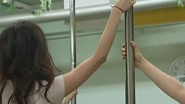 日本钢管舞者,用生命在表演