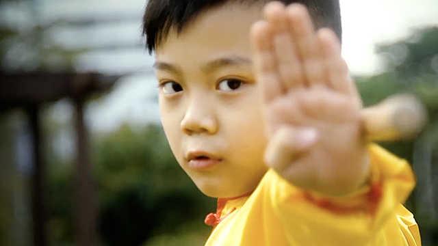 星宝伍天杰:学武术,保护身边人!