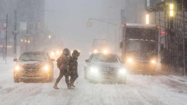 《后天》来了!暴风雪席卷纽约
