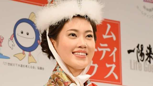 2018日本小姐出炉,冠军是这样的…