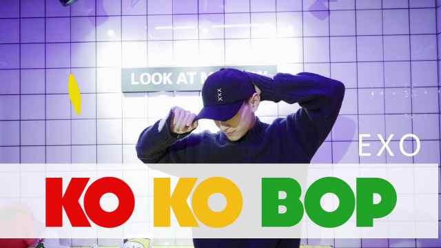 EXO《kokobop》帅气翻跳
