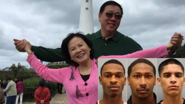 华人夫妇豪宅内被杀:三名嫌犯被捕