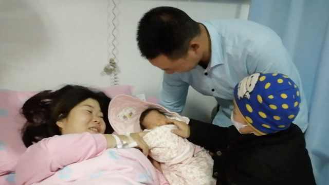 女婴脐带血救兄,兄:长大换我保护她