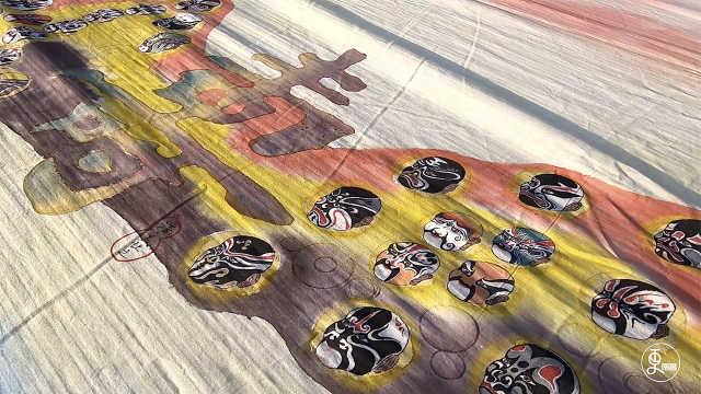 绘染布画,从宫廷里出来的平民艺术