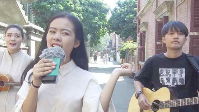 刘思宇翻唱周杰伦《乌克丽丽》