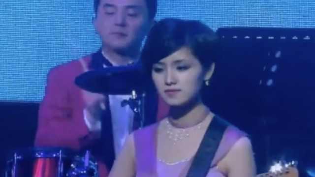 漂亮又活泼!朝鲜美女乐团韩国演出