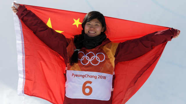 水泥地练滑雪!她为中国摘冬奥首银