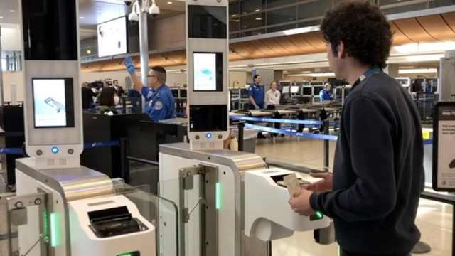 不止刷脸登机,这机场有三大黑科技