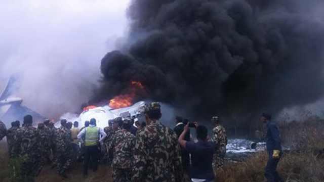 尼泊尔官方:空难一中国人已遇难