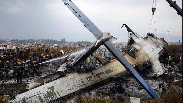 尼泊尔空难音频曝光:机长塔台争执
