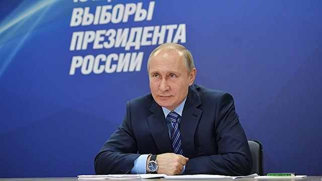 普京会见其他候选人:一起为国效力