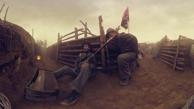 重现南北内战:一封来自战壕的家书