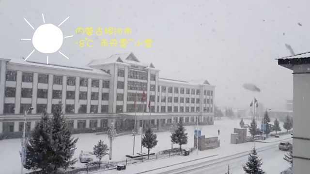 南方春日樱花舞,内蒙古三月大雪飞