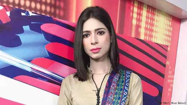 巴基斯坦迎来第一位变性女主播
