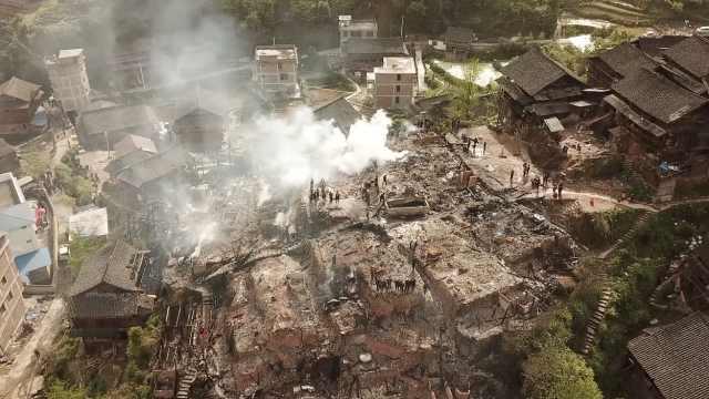火魔凌晨突袭村寨,烧毁18户2人亡