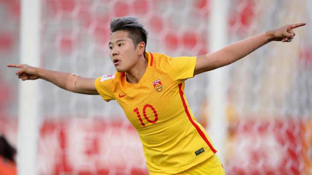 争气!中国女足提前进军世界杯!
