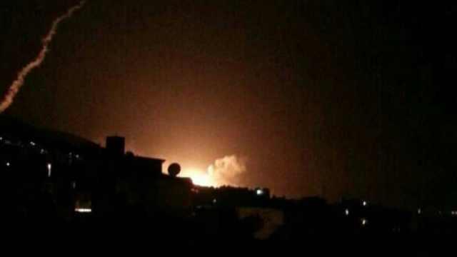 现场:叙利亚首都传出巨大爆炸声