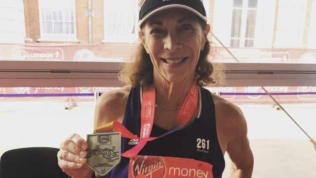 史上首位跑马女性:71岁再战马拉松