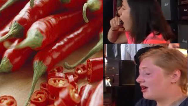 欧洲吃辣椒大赛,冠军都快哭了……