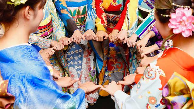 东京奥运和服设计,中国是万里长城