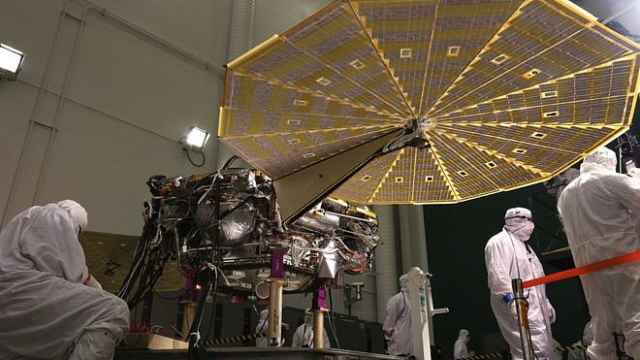洞察號發射升空,將探究火星內心