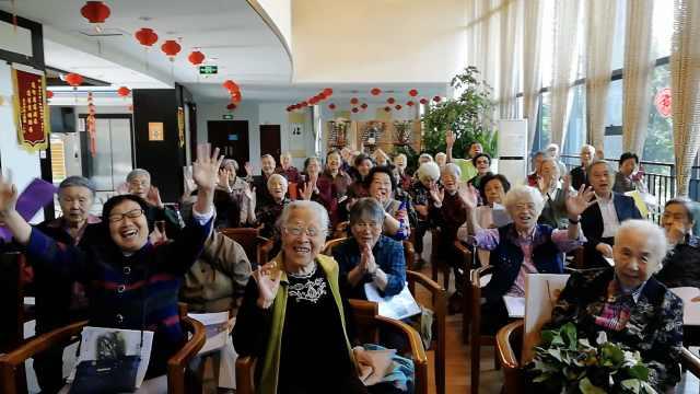 高龄合唱团平均85岁,最大103岁