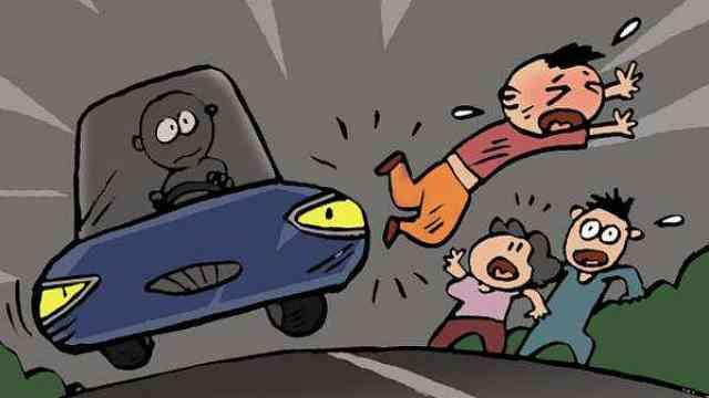 注意!她带娃行车道被撞,被判主责