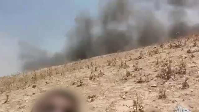 子弹密集!加沙男子越境爬到以色列