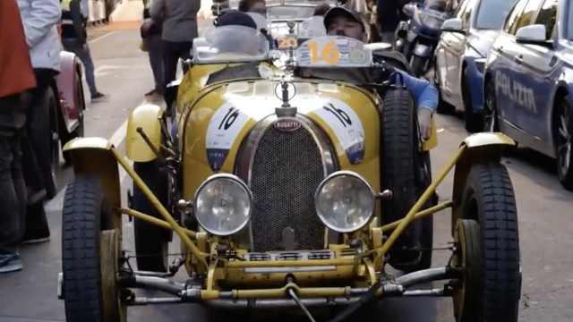世界最美汽车赛开跑,曾催生法拉利